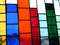 Fensterbild Bunte Vielfalt Tiffany
