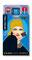 Hülle für ec-Karte cardbox c 079 Nostalgic Girl blau