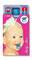 Hülle für Bankkarte cardbox c 0102 Baby mit Schnuller