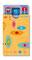 Kartenschutzhülle cardbox c 0259 retro gelb