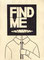 FIND ME 1 (218×307/Ink,TeaDyeing)/sold out