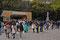 Meiji-Jingu-Schrein ... hier wird ein Volkstheater gespielt