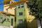 "Valparaiso - unser Hostel ""Puerto Natura"" weit oben in den dicht bebauten Hügeln."