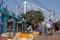 Der Markt liegt am HooghlyRiver unterhalb der Howrah-Bridge