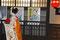 Quartier Shimbashi - eine Geisha huscht vorbei