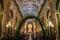 Salta - die Kathedrale am Hauptplatz. Voll besetzt vor der Abendmesse am Palmsonntag.