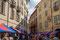 Samstagsmarkt in der Viale Stazione