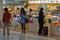 Auch in Kurashiki hat es am Bahnhof einen pickfeinen Kiosk