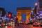 Av. des Champs Elysées mit Arce de Triomphe