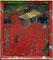 PERFORMANCE PIECE (BLAUVERSCHIEBUNG/ LEIPZIG); Acryl und Öl auf Found Footage; 37 x 42cm; 2012