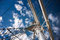 Stralsund: Masten der Gorch-Fock 1