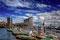 Hamburg: Blick auf die Elbphilharmonie