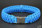 Paracord Halsband Colonial Blue by KingLuy