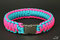 Paracord Halsband Crazy Pink by KingLuy