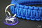 Paracord Halsband Royal Blue by KingLuy