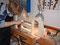 Die Herstellung der Innenform ist die Grundlage für die weitere Arbeit am Violoncello