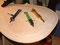 Der Stechzirkel, Zeichenzirkel und das Schneidzeug sind u.a. Hilfsmittel und Werkzeuge zum Markieren und Scheiden der Nut.