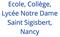 logo école St Sigisbert