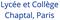 logo lycée Chaptal