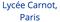 logo lycée Carnot