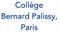 logo collège Bernard Palissy
