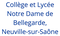 logo école ND de Bellegarde