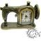 """часы """"Швейная машинка"""" - 750 руб."""