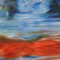 """Lichtfluss"" - 2014 - Öl auf Leinwand - 140 cm x 130 cm"