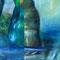 """Adagio"" - 2015 - Öl auf Leinwand (2-teilig) - 180 cm x 400 cm"