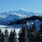 Le Mont Blanc depuis Les Gets