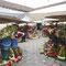 Cuenca, le marché aux fleurs