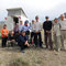 Dernier bivouac en Iran en compagnie de cyclotouristes