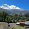 Sur la route du Llanganuco