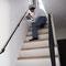 階段でアイアン手摺をしっかりタッチアップ!!