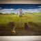 """Philipp Heckmann """"Cat's dream"""" - Serigrafie  ohne Rahmen EUR 85,00 mit Alurahmen, Glas und Rückwand EUR 185,00"""