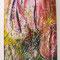 Nese Banu Argadal/Istanbul - 70x80 cm acryl auf Leinwand Rosa Tulpen kosmos 2012 - EUR 1900