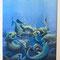 """Philipp Heckmann """"Das Interview""""  Original Gemälde 40x30cm mit Rahmen - EUR 1270,-"""