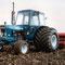 Ford 6600 Traktor mit Breitreifen(Quelle: Classic Tractor Magazine)