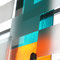 o.T., 2008, Glasinstallation, 4-teilig, 3,5 m x 6 m, Detail, Foto: Irmi Sellhorst