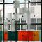 o.T., 2008, Gastkünstlerin bei der Jahresausstellung zum 200-jährigen Jubiläum der Akademie der Bildenden Künste München, Glasinstallation 3,50 m x 6 m