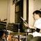 Justin, drums