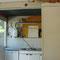 Keuken, kastjes verwijderd