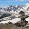 Aussicht in die Schneeberge