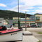 Dawson City an der Hauptstrasse