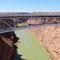 Brücke über den Coloradoriver auf dem Weg zum Grand Canyon