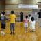 1回目の講習が始まりました。カンフー体操。