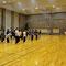 王輝老師をお迎えして、42式太極剣の講習が始まりました。