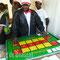 Sylvain Ndjana a conçu un jeu pour faciliter la compréhension des mathématiques.