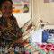 Dorothy Binla Selamo a fabriqué des pâtes alimentaires à base du manioc et plusieurs autres tubercules.