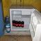 die aufgefüllte Minibar